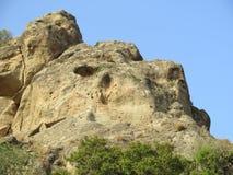 Roccia in Andalusia Immagine Stock