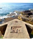 Roccia antica a Beirut, Libano Immagine Stock