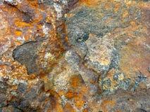 Roccia arrugginita Fotografia Stock