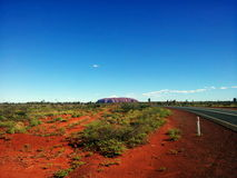 Roccia Ayers/di Uluru Fotografia Stock