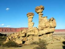 roccia Barca-a forma di immagine stock