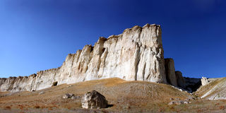 Roccia bianca, Crimea fotografie stock