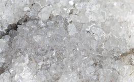 Roccia bianca cristal Immagini Stock