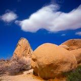 Roccia California di Joshua Tree National Park Intersection Immagine Stock