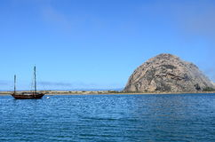 Roccia California di Morro Fotografia Stock Libera da Diritti