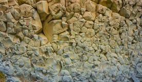Roccia colorata il Mar Nero Immagini Stock
