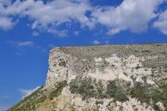 Roccia cretacea Fotografia Stock