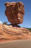 Roccia d'equilibratura Fotografia Stock Libera da Diritti
