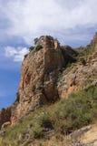 Roccia dal fiume Dílar Fotografia Stock