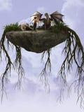 Roccia dei draghi Fotografia Stock