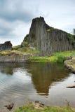 Roccia del basalto Immagini Stock