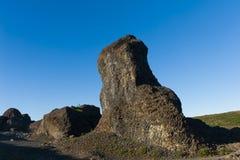 Roccia del basalto Immagini Stock Libere da Diritti