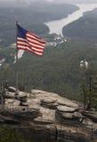 Roccia del camino Fotografie Stock