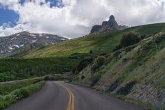 Roccia del camino nel Nevada orientale Immagini Stock Libere da Diritti