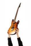 Roccia del chitarrista fotografie stock libere da diritti