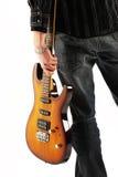 Roccia del chitarrista fotografia stock libera da diritti