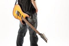 Roccia del chitarrista fotografia stock