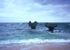 Roccia del cuore di Kouri immagini stock