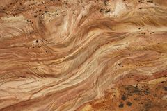 Roccia del deserto. fotografia stock libera da diritti