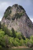 Roccia del falò Fotografia Stock