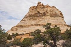 Roccia del fantasma sui 70 da uno stato all'altro Utah 2 Fotografie Stock