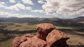 Roccia del fungo in Carbondale Colorado Immagine Stock Libera da Diritti