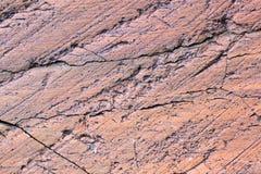 Roccia del ghiacciaio Immagine Stock