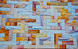 Roccia del granito Fotografia Stock