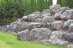 Roccia del monticello Fotografia Stock