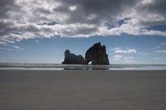 Roccia del ponticello Fotografia Stock
