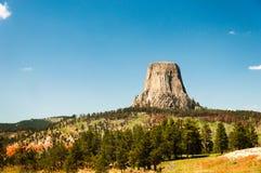 Roccia del Wyoming Fotografie Stock Libere da Diritti