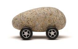 Roccia dell'automobile Fotografie Stock
