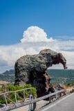Roccia dell ` elefante zdjęcie stock