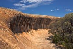 Roccia dell'onda in Australia occidentale immagini stock libere da diritti