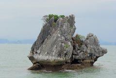 Roccia della baia di lunghezza dell'ha Fotografia Stock