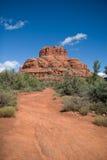 Roccia della Bell in Sedona, AZ Fotografie Stock