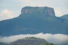 Roccia della bibbia nella zona centrale dello Sri Lanka Immagine Stock Libera da Diritti