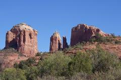 Roccia della cattedrale, Sedona Arizona Fotografie Stock