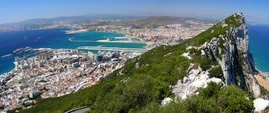 Roccia della Gibilterra Immagine Stock
