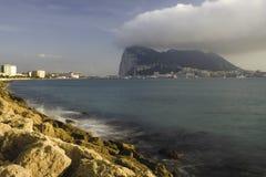 Roccia della Gibilterra Immagine Stock Libera da Diritti