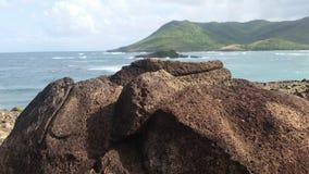 Roccia della montagna Immagini Stock Libere da Diritti