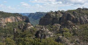Roccia della pagoda nel parco nazionale blu delle montagne Immagini Stock Libere da Diritti