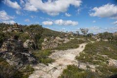 Roccia della pagoda nel parco nazionale blu delle montagne Immagini Stock