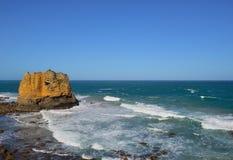 Roccia della Tabella in Eagle Point Marine Sanctuary Fotografia Stock