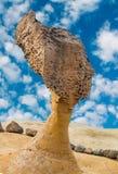 Roccia della testa della regina in Yehliu Geopark, Taiwan Immagine Stock