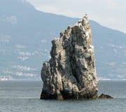 Roccia della vela Fotografia Stock