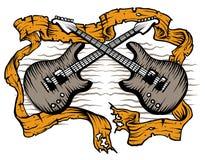 Roccia delle chitarre Fotografia Stock