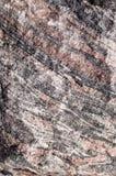 Roccia dello gneiss Fotografie Stock