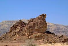 Roccia dello Sphinx Fotografie Stock