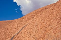 Roccia di Ayers Immagini Stock Libere da Diritti